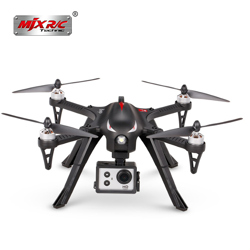 MJX Bugs 3 B3 RC Quadcopter Brushless Motor 2.4G 6-Axis Gyro Drone With 4K Camera Professional Helicopter Drone Profissional mjx bugs 3 b3 rc quadcopter brushless motor 2 4g 6 axis gyro drone with h9r 4k camera professional drone helicopter black