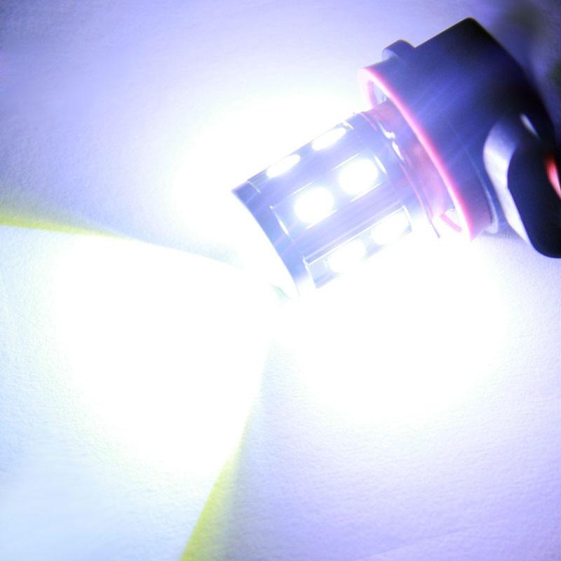 kongyide Healight Bulbs 2x Car H11 5W 12 LED 5630 SMD Fog Running Light Lamp Bulb Xenon White NOV10