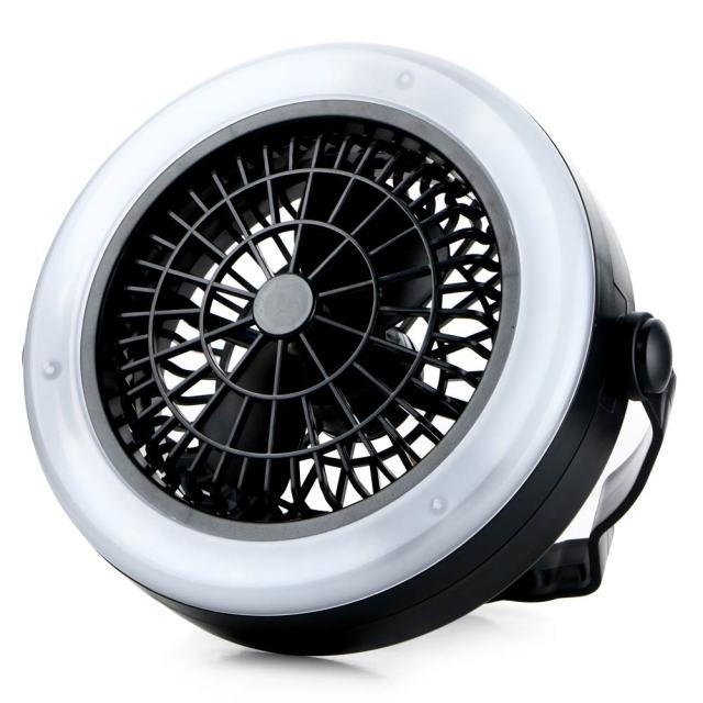 Portable Rechargeable LED Fan Light Mini Air Cooler Outdoor C&ing Tent L& Hanging Hook Lantern USB  sc 1 st  AliExpress.com & Portable Rechargeable LED Fan Light Mini Air Cooler Outdoor ...