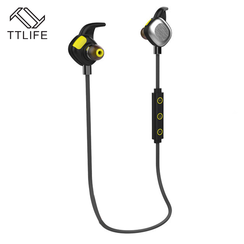 TTLIFE Waterproof Multi-point connection Bluetooth 4.1 Stereo Earphone HIFI Music Bass Headset Wireless Sport Handsfree With Mic bluetooth earphone headphone for iphone samsung xiaomi fone de ouvido qkz qg8 bluetooth headset sport wireless hifi music stereo