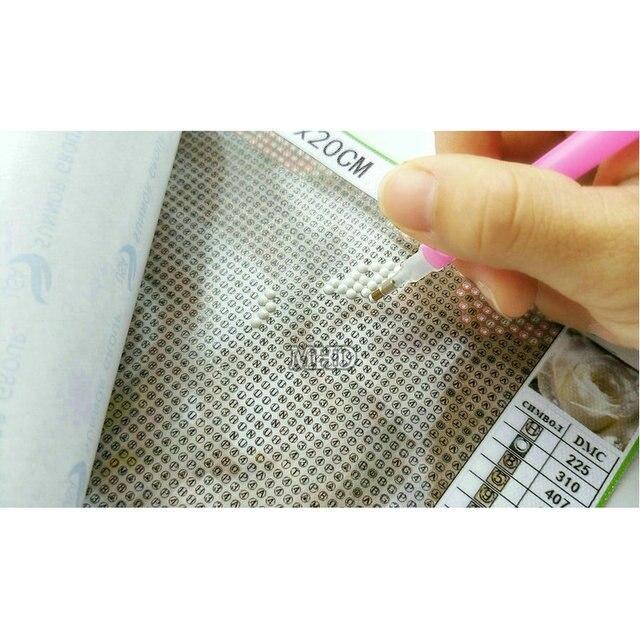 DIY ألواح تلوين حرفية لامعة عدة خياطة كامل الماس مربع التطريز جوفي الماس فسيفساء نمط التطريز الحرف