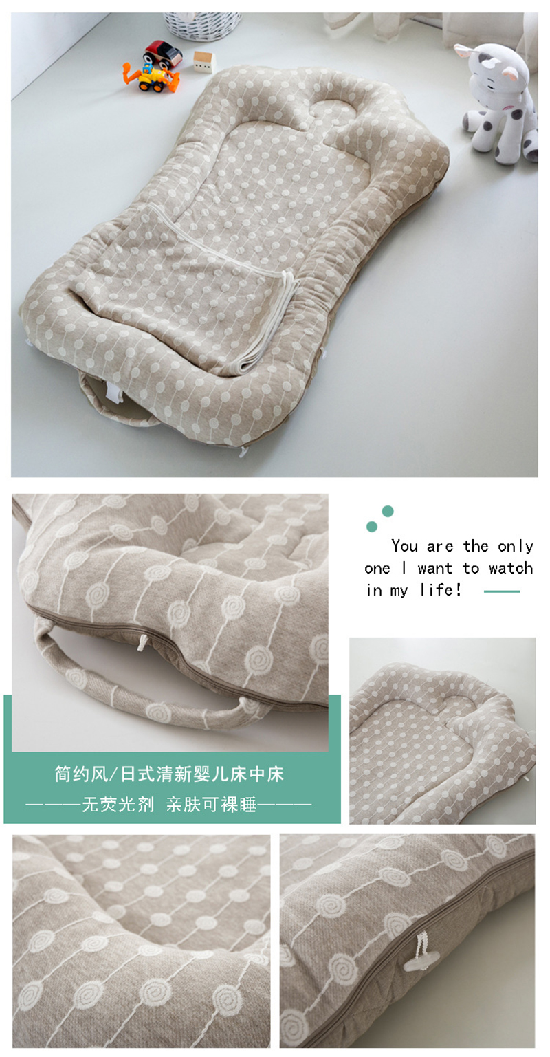 Portable Cotton Crib Fitted Sheet Soft Baby Bed Mattress Cover Protector Cartoon Newborn Bedding For Cot Size 60*110cm Baby Furniture Baby Cribs