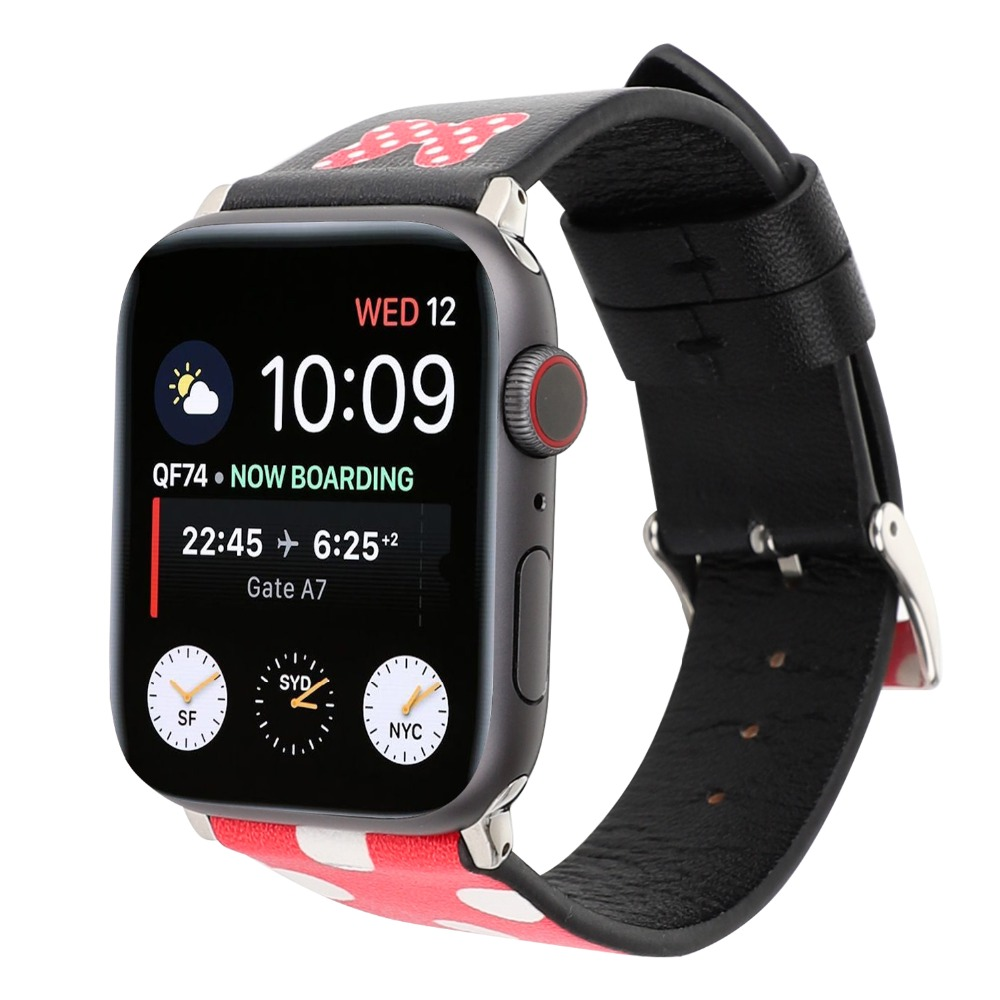 New Cartoon Watch Bands for Apple Watch 38mm 40mm 42mm 44mm Genuine Leather Woman Bracelet for Apple Watch Series 4 3 2 1New Cartoon Watch Bands for Apple Watch 38mm 40mm 42mm 44mm Genuine Leather Woman Bracelet for Apple Watch Series 4 3 2 1