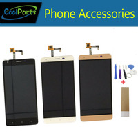 High Quality Black Color For Oukitel K6000 PRO LCD Display And Touch Screen Replacement With Tool