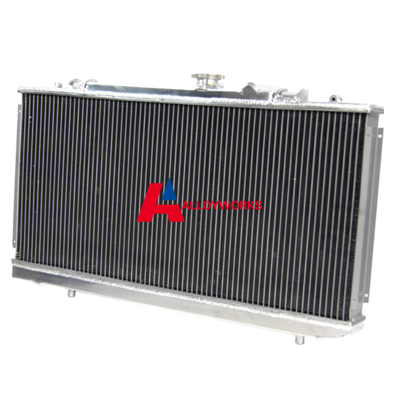 56mm ALUMINUM Radiator FOR TOYOTA CELICA GT4 ST185 3S GTE TURBO ALL TRAC 89 93 Automobile