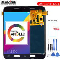 New AMOLED For Samsung Galaxy J1 J120F J120DS J120G J120M J120H J120 LCD Display with Touch Screen Digitizer Assembly Sensor