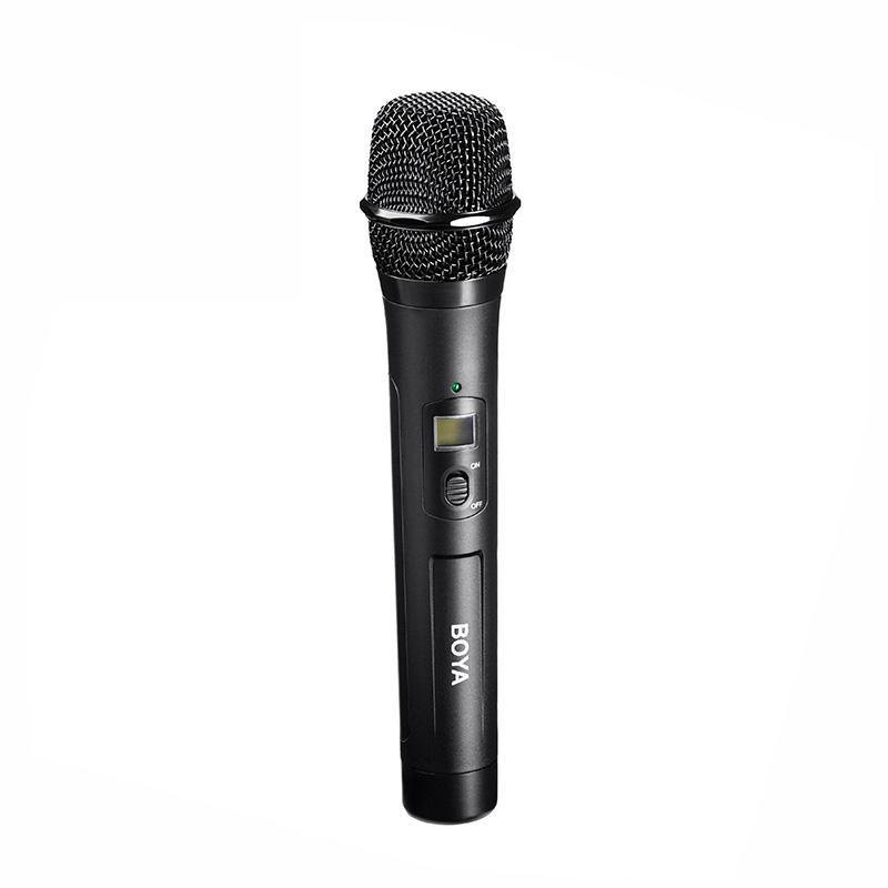 BY-WHM8 Unidirectional Microphone Wireless Handheld Transmitter with a dynamic, cardioid capsule
