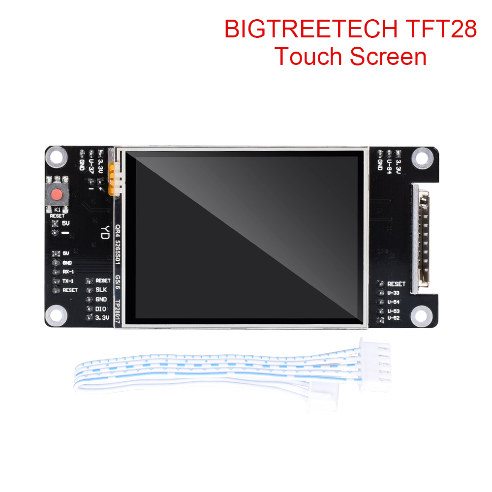 BIGTREETECH TFT28 Touch Screen Smart Display 2.8 Inch LCD Compatible SKR V1.3 mini Control Board Magician For 3D Printer Parts image