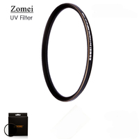 Free Shipping Top UHD Zomei Ultrathin 77mm UV Filter Germany Polarizer Lens 18 Layer Coating Oil