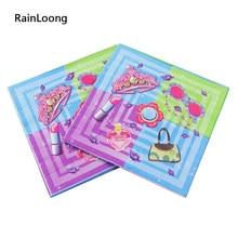 [Rainloong] festa guardanapo de papel festivo & para festas decoração de tecido guardanapo 33cm * 33cm 1 pacote (20 unidades/pacote)