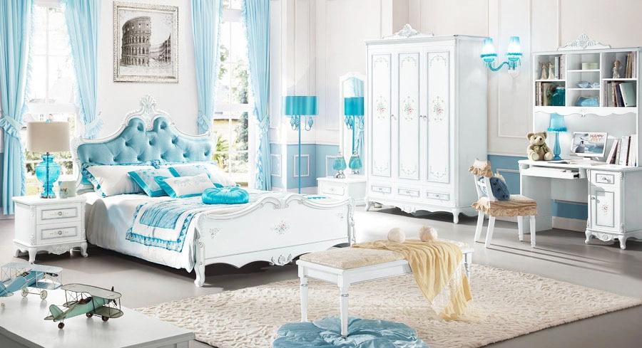 Achetez en gros baroque chambre meubles en ligne des - Chambre enfant baroque ...