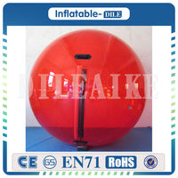 Free Shipping 0.8mm TPU 2m Dia (4pieces Water Balls + 1 roller )Inflatable Water Walking Ball Water balloon Zorb Ball For Sale