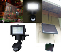 LED Solar Lamp Waterproof Solar Light Pir 60 LEDs PIR Motion Detector Door Wall Light Outdoor