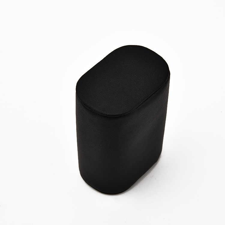 Набор из 2 черных кожаных браслетов из искусственной кожи, подушек для часов, подушек для витрины часов, для корпуса, держатель для презентаций, органайзер, дропшиппинг