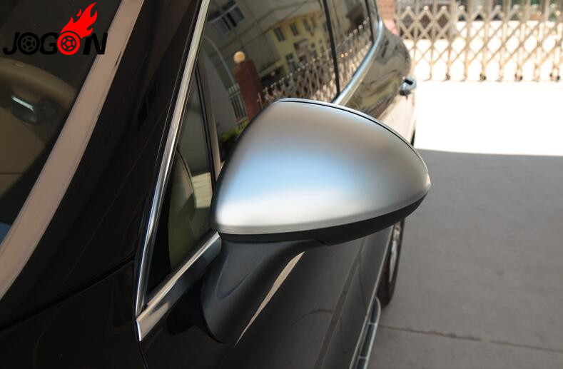 Accessories NEW Matt Silver ABS Chrome side mirror cover For Porsche Cayenne 2011 2012 2013 2014