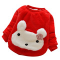 Baby Winter Coats for Girls Cute Rabbit Kids Girl Coat and Jacket Thick Warm Outerwear Baby Children Clothing Tops Girl Coats