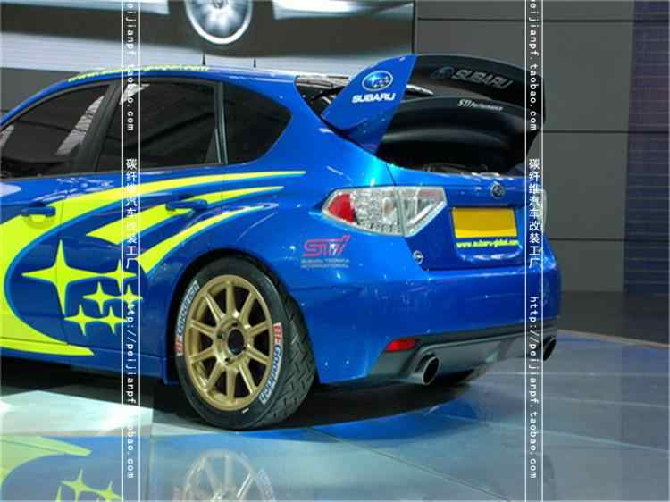 Fit for Subaru impreza 10 gen STI WRC carbon fiber rear spoiler rear wing