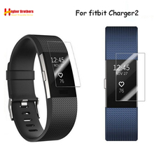 HD Protective Film for Fitbit Charge 2 Charge2 Band Anti-Scratch TPU Screen Protectors Bracelet Screen Clear Ultra Thin 1 2 5 6 pcs anti scratch ultra clear protective film guard for fitbit charge 2 wristband full screen protector cover