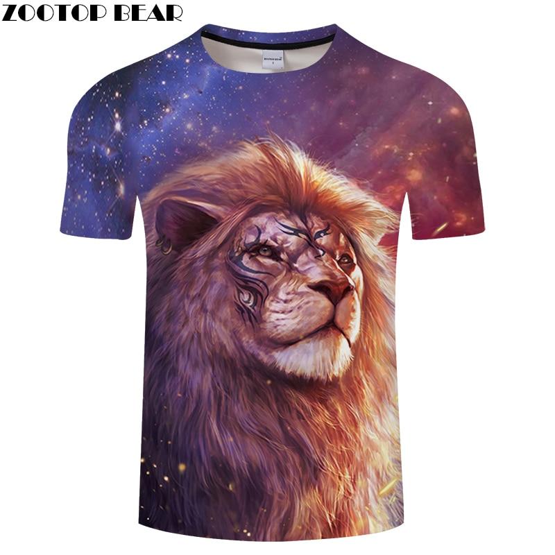 Casual 3D T-Shirts Men Women Harajuku Tiger Animal Tee shirt Hip Hop Graphic Top