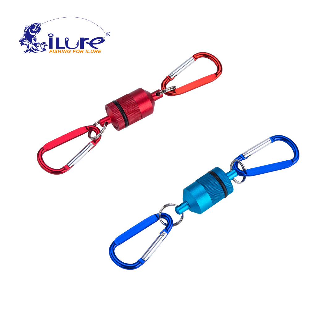 iLure Fly Fishing Strong Train Release Magnetic Net Gear Release Lanyard cable Pull 4KG Fishing Tackle Accessory tool Pesca