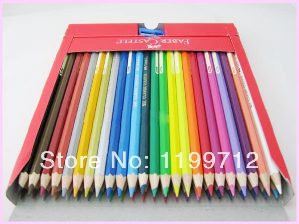 Faber castell 48 classic color pencil colored drawing artist set on