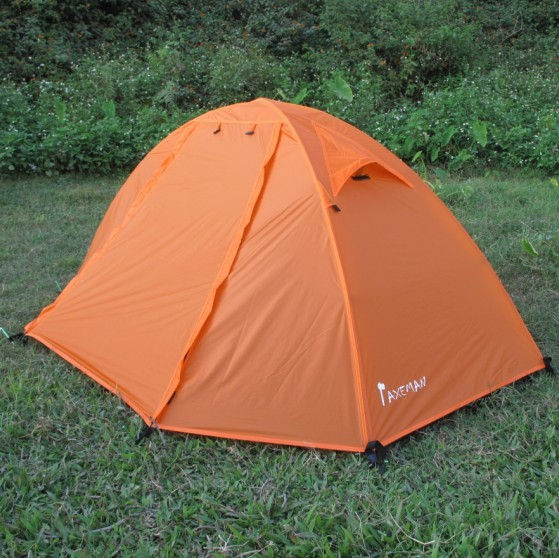 Ultralight Outdoor C&ing Travel Tent Double Laye. & Ultralight Outdoor Camping Travel Tent Double Layer Three Season ...