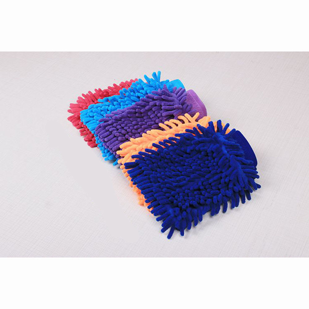 Ultrafine Fiber Chenille Car Wash Gloves Brushes Microfiber Car Motorcycle Washer Car Care Cleaning Brushes