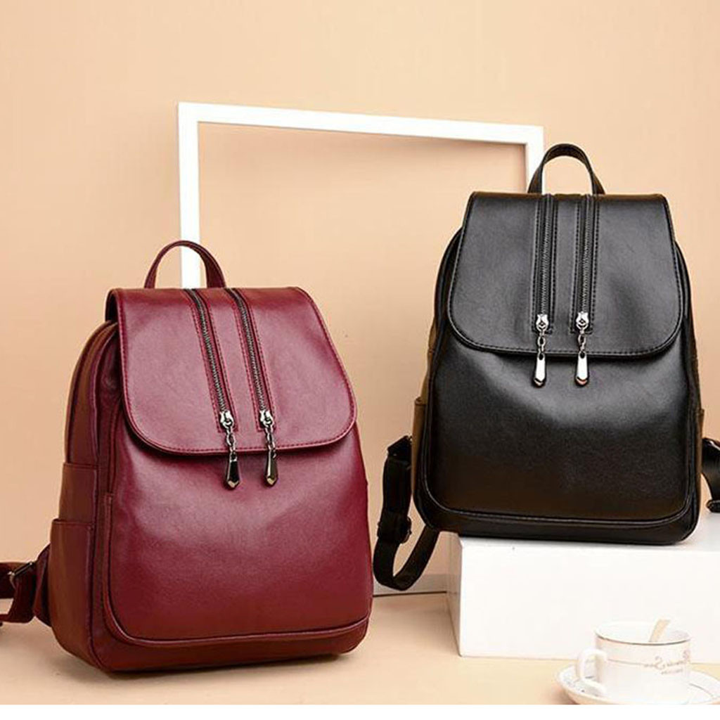 Female Backpack Computer-Bag Multifunctional-Bag High-Quality Women