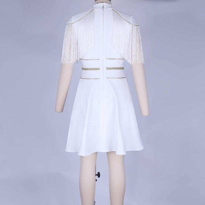 Vestidos discount Christmas White 12