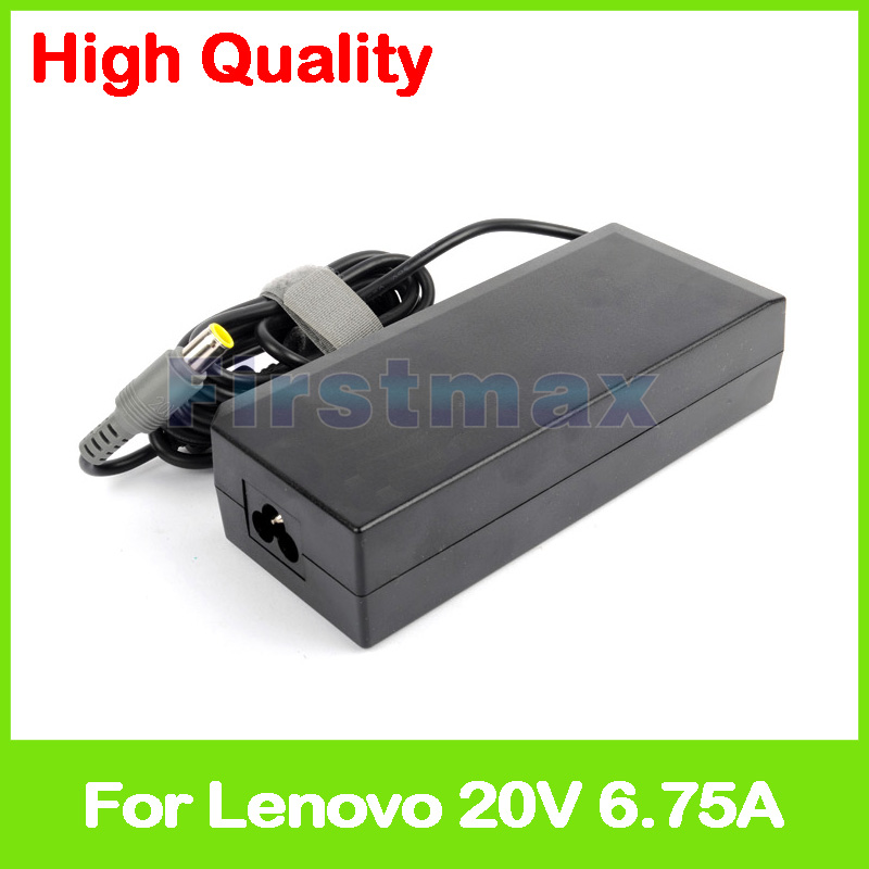 20V 6 75A Laptop ac power adapter charger for Lenovo ThinkPad W510 T520 T530 45N0053 45N0054