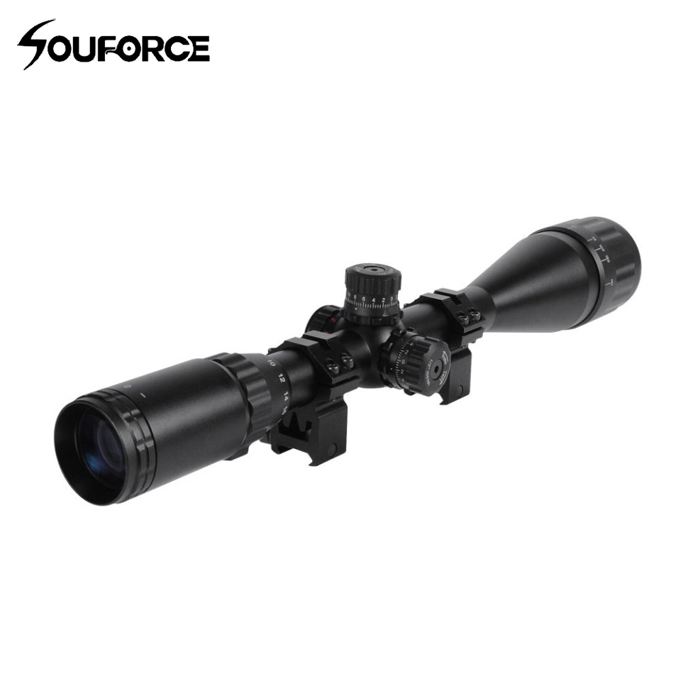 6-24x50BAOL Fogproof Tactical  Riflesope with Etched Glass RGB Mil-dot Reticle Locking Turret for Hunting Rifle Airsoft Scope6-24x50BAOL Fogproof Tactical  Riflesope with Etched Glass RGB Mil-dot Reticle Locking Turret for Hunting Rifle Airsoft Scope