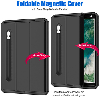 360 Full Protection Case For apple iPad Air 10.5 2019 Kids Safe Shockproof Heavy Duty TPU Hard Cover kickstand For ipad pro 10.5 1