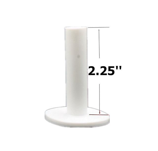 Finger Ten Golf Rubber Tee 5 Different Size Pack Driving Range Tees Holders 1.5'' 2.25'' 2.75'' 3.0'' 3.13'' inch Rubber Tee 2