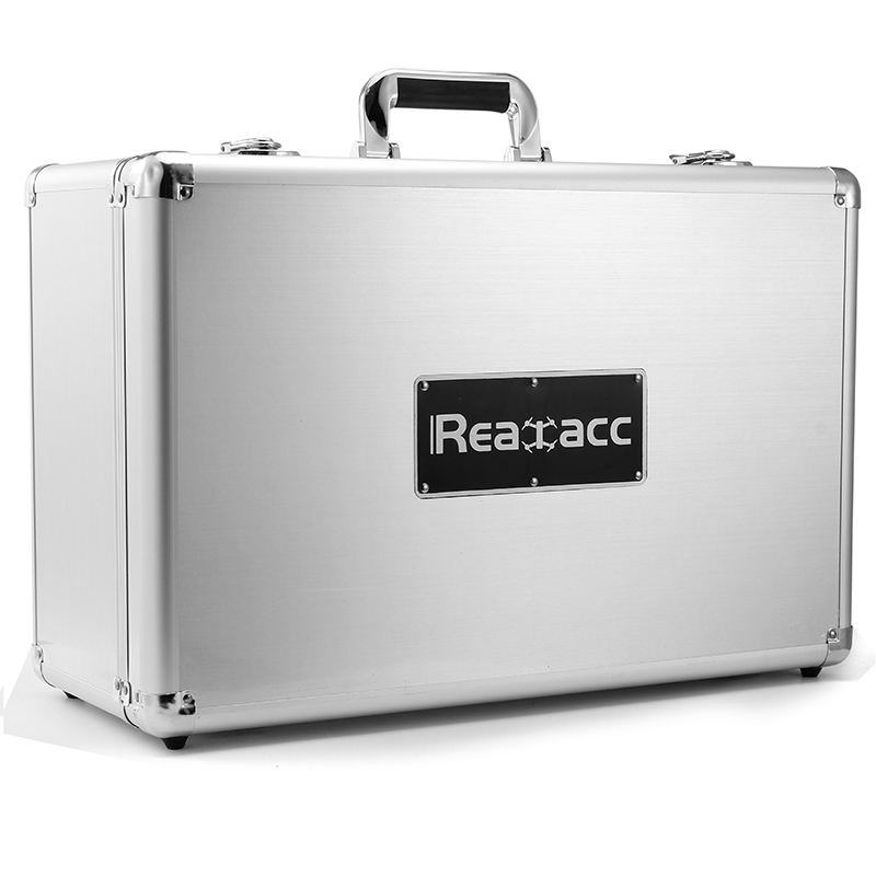 DJI Phantom 4 Pro FPV Camera Drone Silver Realacc All Aluminum Portable Hardshell Suitcase Carrying Box Suit Case Bag