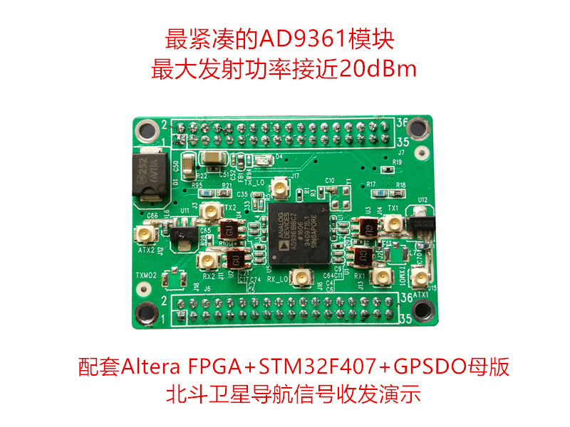 цены на AD9361 Development Board Software Radio _SDR_ Wireless Data Acquisition Module Pseudo Satellite  в интернет-магазинах