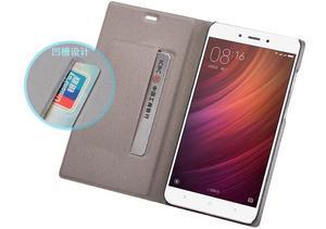 Image 5 - Xiaomi redmi 5 plus case cover redmi 5 flip cover PU leather back case redmi5 global redmi 5Plus Kickstand original OEM Case