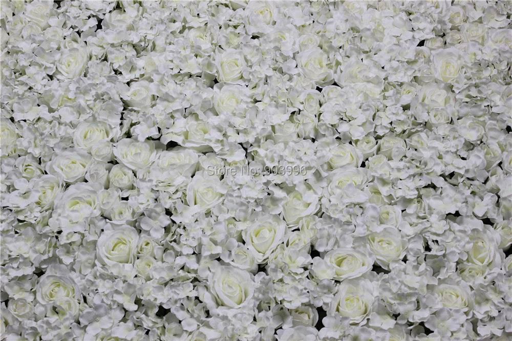 SPR Gratis verzending Kunstzijde rose bloem muur bruiloft achtergrond - Feestversiering en feestartikelen - Foto 4