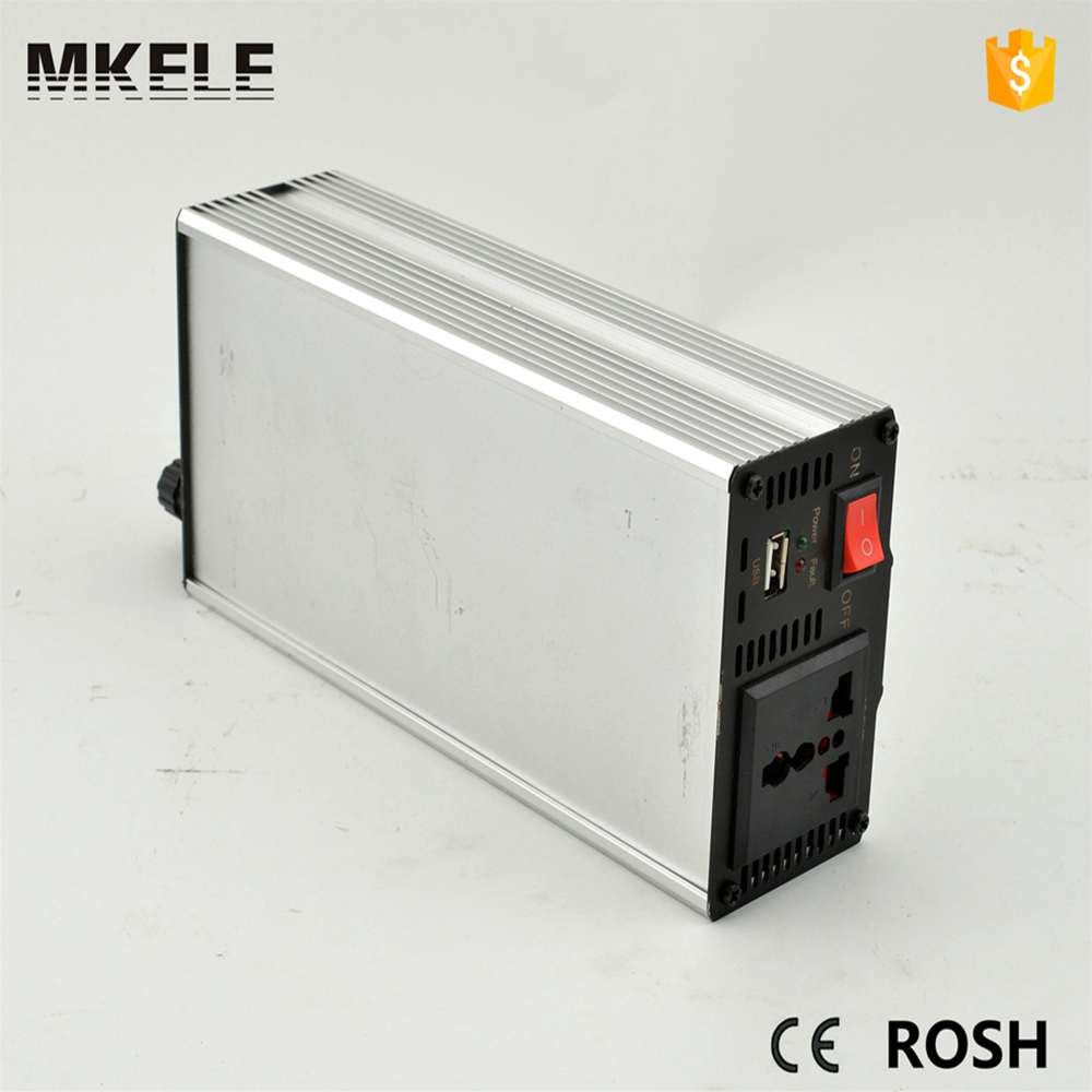 ФОТО MKM800-121G modified 800w off grid 12v to 110/120vac inverter power inverter for vehicle off grid inverter for universal use