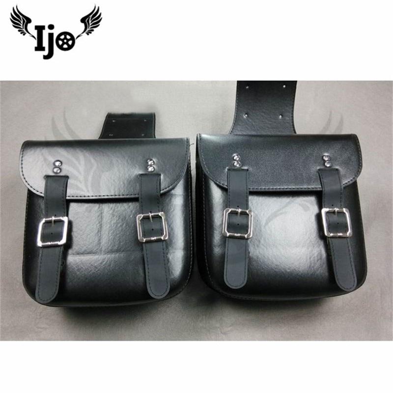 sacoche moto saddle bag for Vespa benelli givi harley softail motorcycle bag mochila moto accessories pernera moto saddlebag
