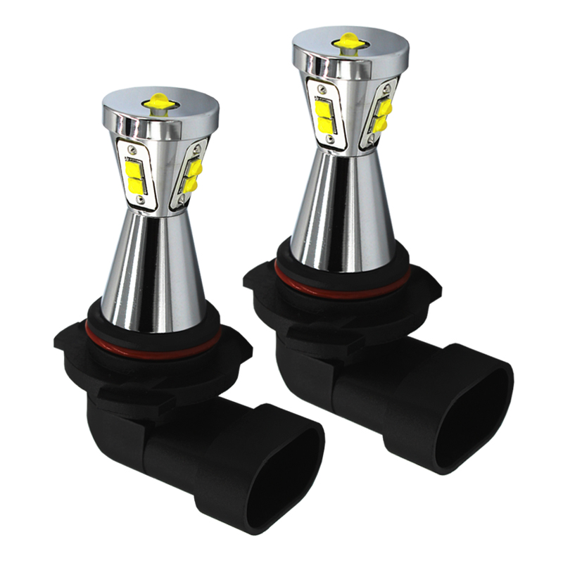 2 x A19 HB3/9005 9006/HB4 45W high power led fog lights fog lamps,white blue yellow(amber) and Green running lights red led 9005 tcart 2x 9005 hb3 9006 hb4 dual color car led headlight white yellow headlamp bulbs fog lamps for plips chip 36w auto led light