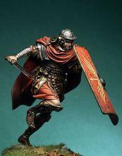 Неокрашенный набор 1/24 75 мм, древние солдаты, римские легионами, фигурка, историческая фигурка, набор из смолы