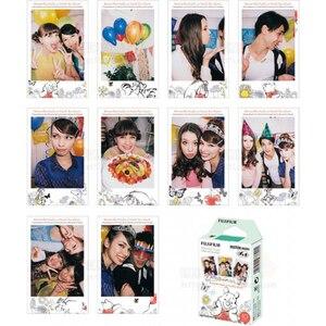Image 2 - For Fuji Fujifilm Instax Mini 8 Film Winnie Bear 10pcs Instant Photo Paper for Fujifilm Mini 11 7s 25 50s 90 Camera SP 1 SP 2