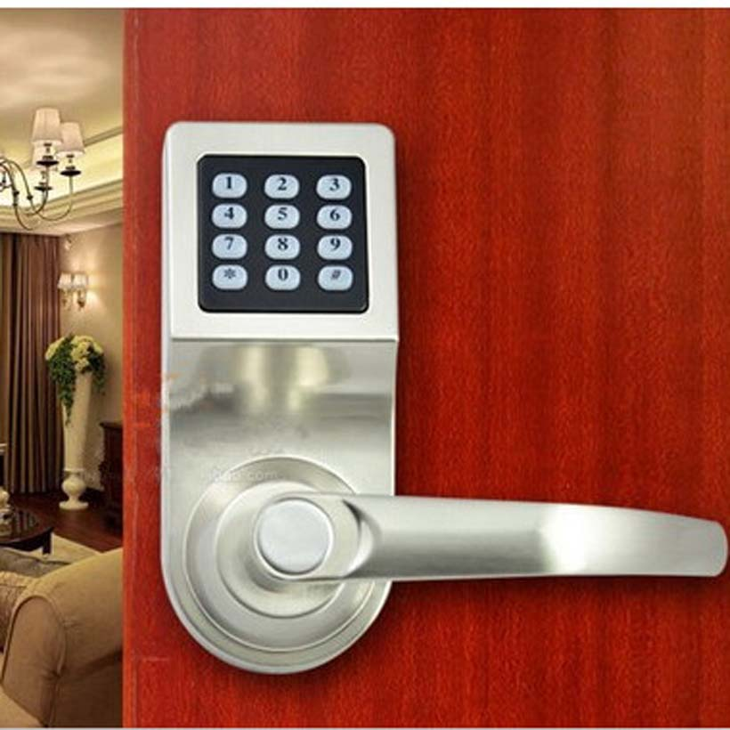 digital office door handle locks. aliexpresscom buy easy install safe security digital password key induction card door lock home hotel office free shipping from handle locks h
