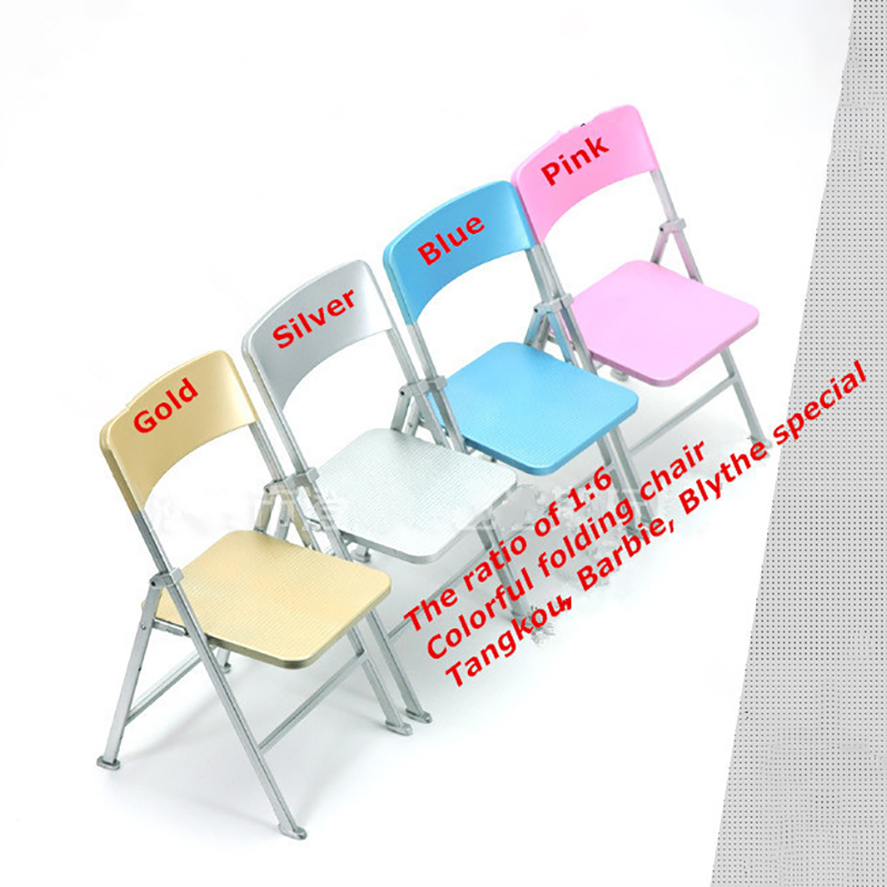 1//6 Scale Foldable Beach Chair with Soft Pillow for 12/'/' Action Figures Body