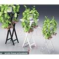 Lucite Acrílico console de mesa dobrável, Florais De Casamento Plexiglass Pedestal Stand, Perspex Dobrar Mesas de Canto Escultura
