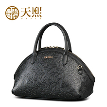 Women bag  Original retro dermis shoulder bag women Handbag Messenger Bag Embossed shell package