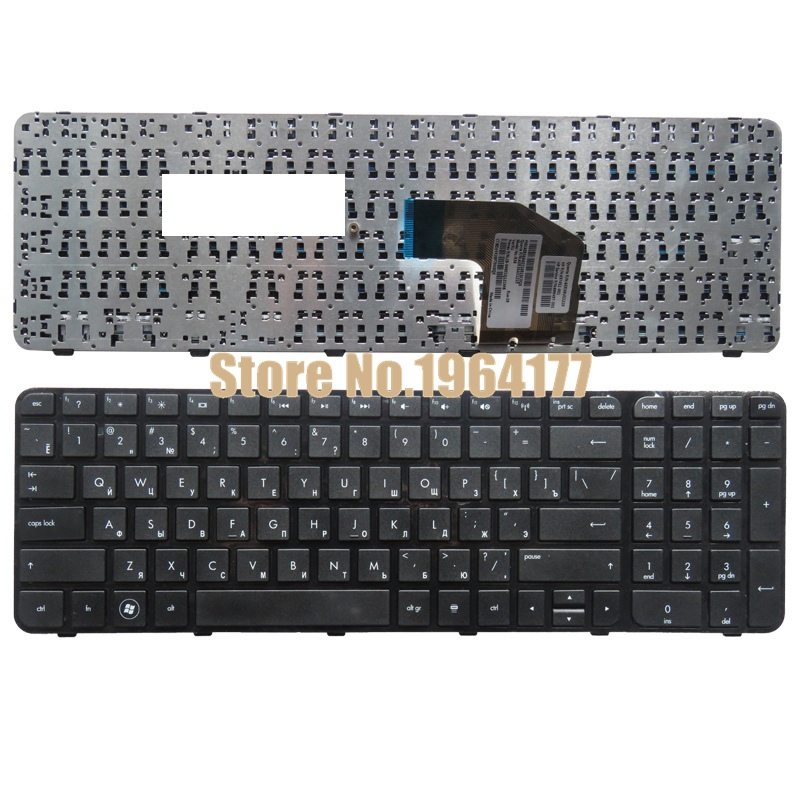 все цены на Ru laptop keyboard FOR HP FOR Pavilion G6-2000 G6Z-2000 g6-2100 G6-2163sr g6-2302er AER36Q02310 R36 RU Black or White онлайн