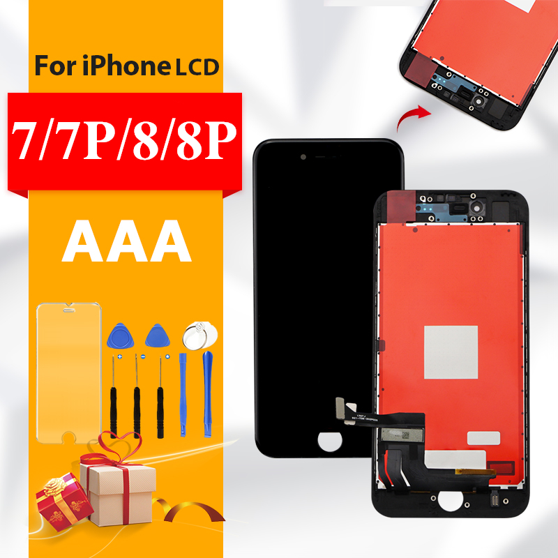 AAA+++ For iPhone 7 7Plus LCD Screen Replacement High Quality For iphone 8 Plus Display 8Plus No Dead Pixel With 3D TouchAAA+++ For iPhone 7 7Plus LCD Screen Replacement High Quality For iphone 8 Plus Display 8Plus No Dead Pixel With 3D Touch