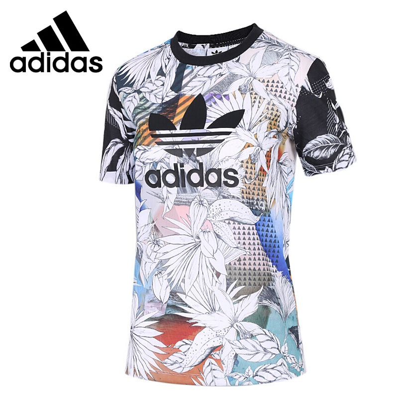 Original New Arrival 2018 Adidas Originals FARM TEE Womens T-shirts short sleeve SportswearOriginal New Arrival 2018 Adidas Originals FARM TEE Womens T-shirts short sleeve Sportswear