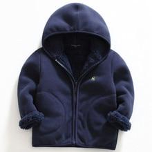 New Spring Autumn Polar Fleece Soft Jacket Coat For Kids Boy